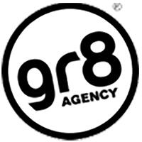 Gr8 agency logo